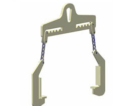 7:L-shape hook/Single lifting point shovel hook